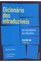 Dicionário dos intraduzíveis - Vol. 1 (Línguas)